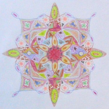 Mandala kleuren creatief
